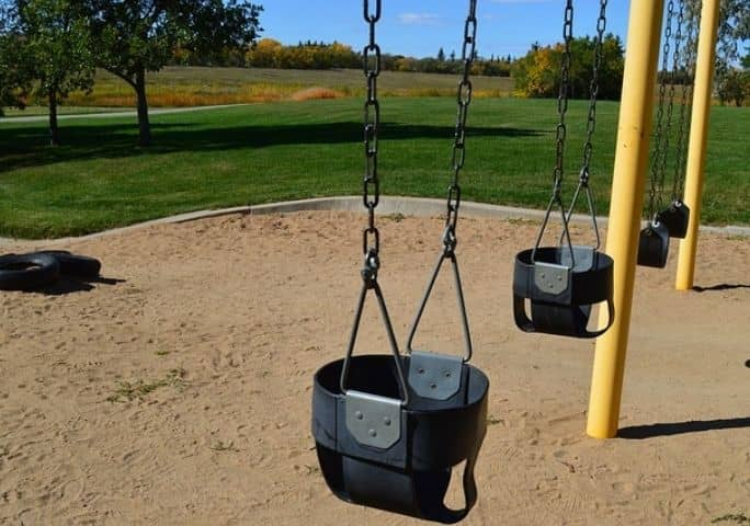 Sand Under the Swings